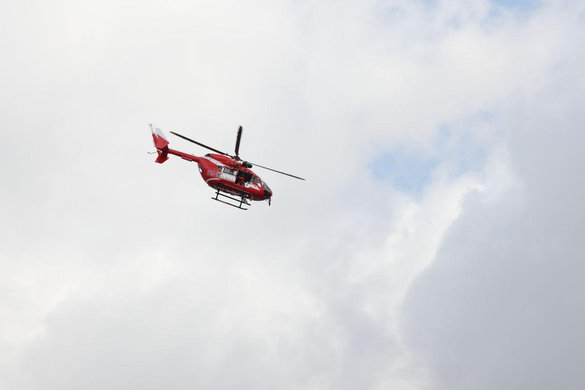 神戸市消防出初式 2020年1月5日 ヘリコプター