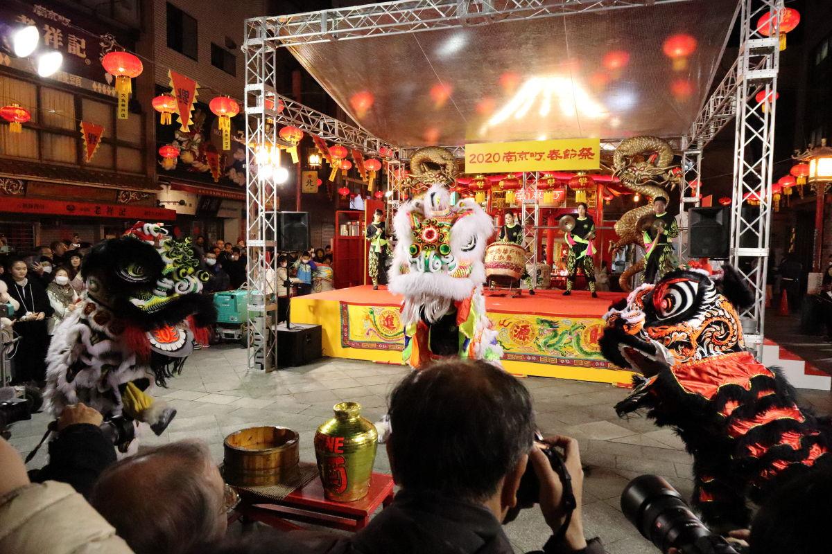 神戸中華街 南京町 春節祭