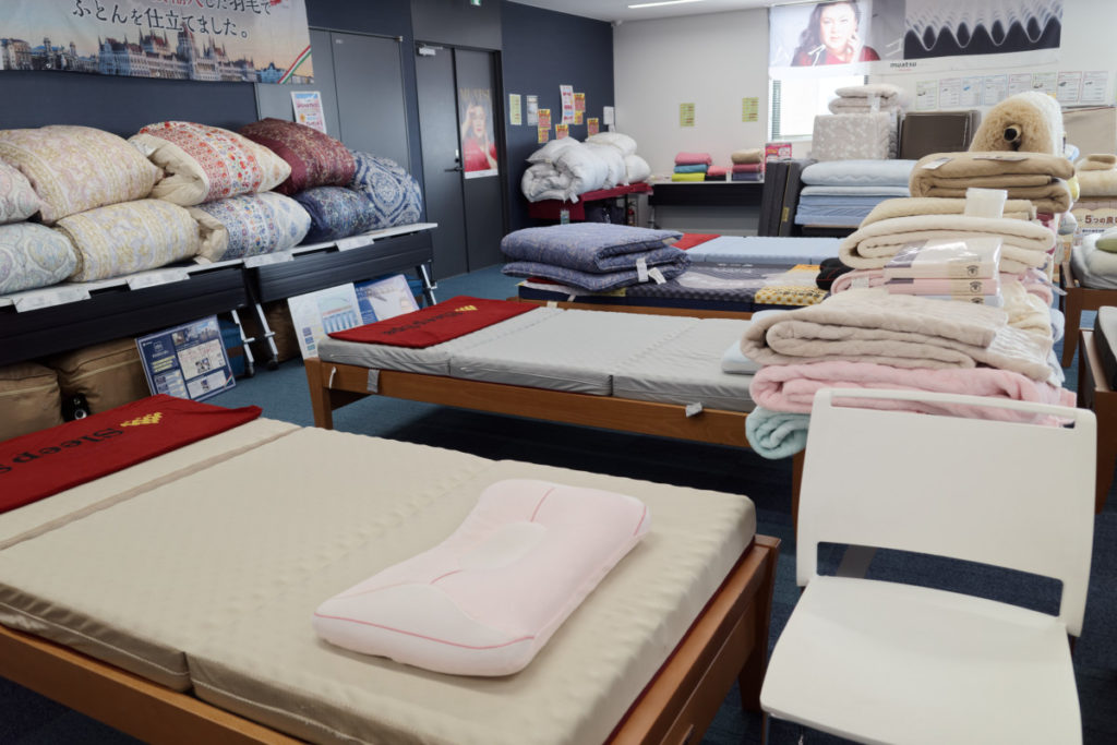 西川ふとん寝具フェア 神戸ポートオアシス