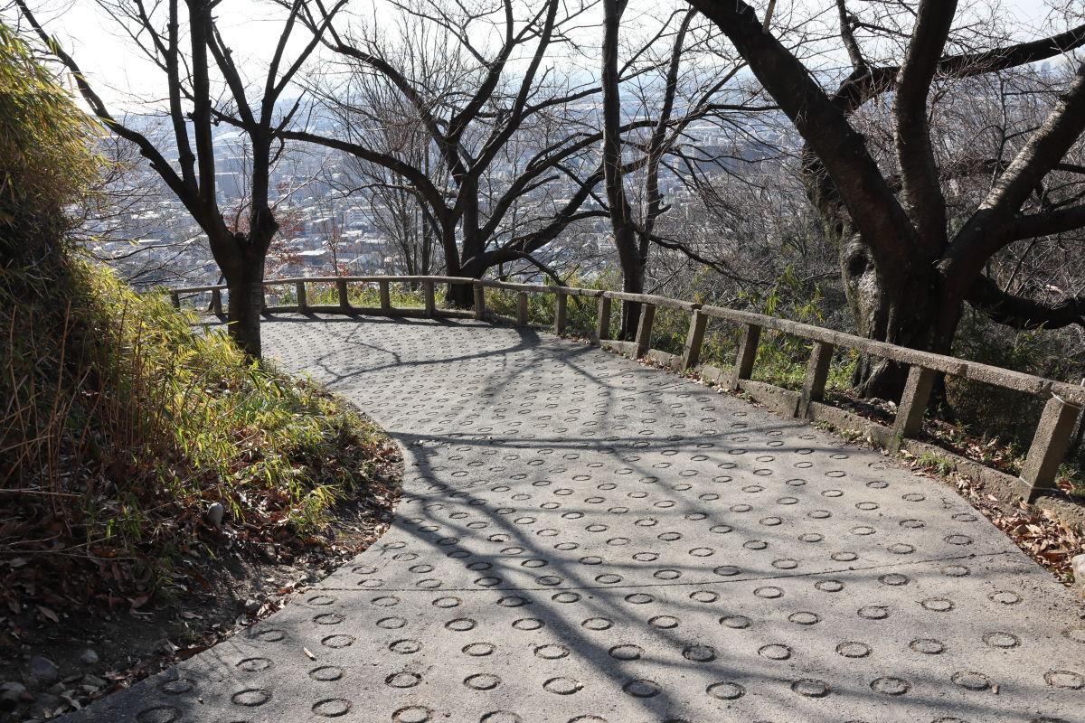 保久良神社までの道のり
