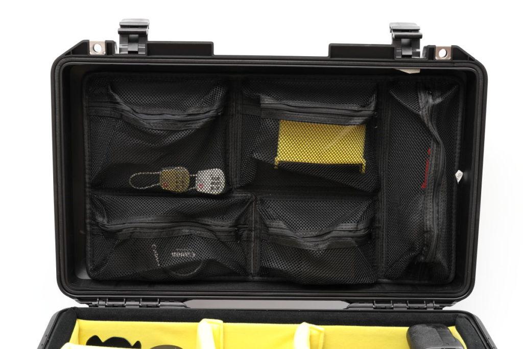 ペリカンケース用オーガナイザー Pelican 1519 Photographer's Lid Organizer for Pelican 1510 Case