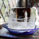 氷の器のアイスコーヒー にしむら珈琲 北野坂店限定メニュー