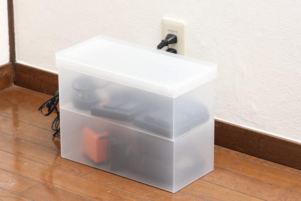 自作の充電ステーション・充電ボックス