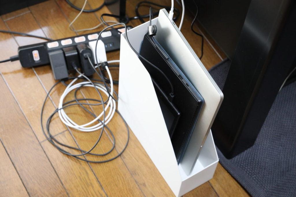 ノートPCやタブレットの充電
