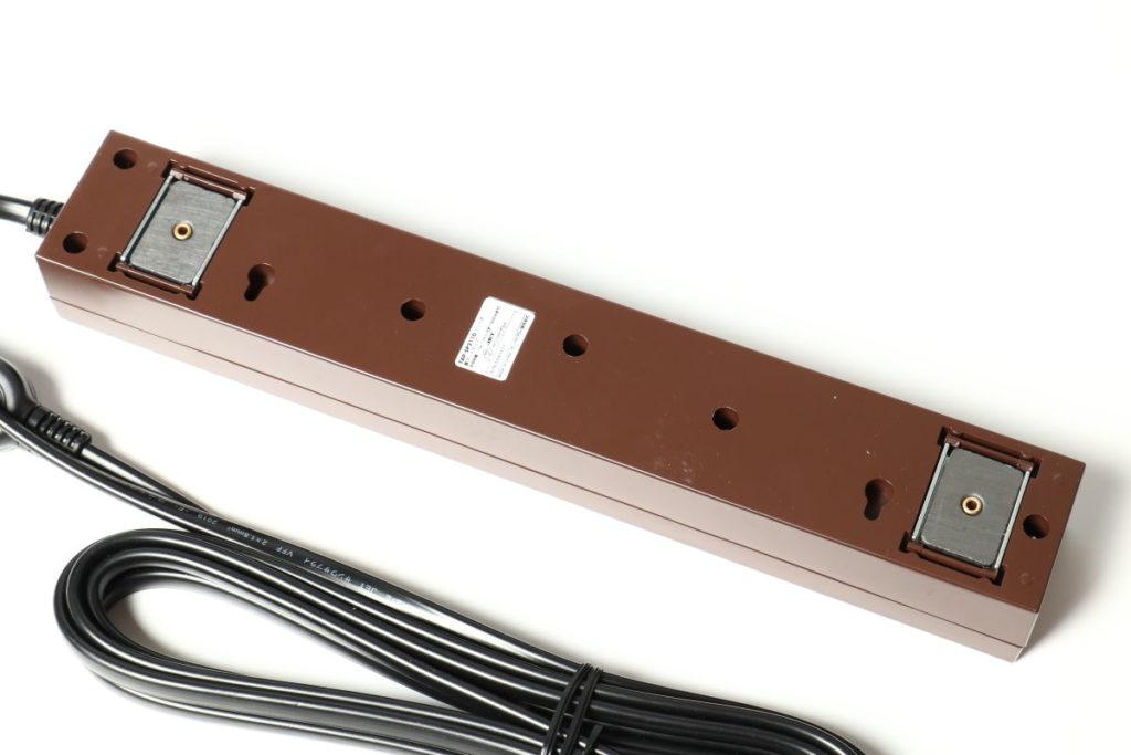 サンワサプライ 雷ガードタップ 10個口・2P 3m ブラウン TAP-SP2110-3BR