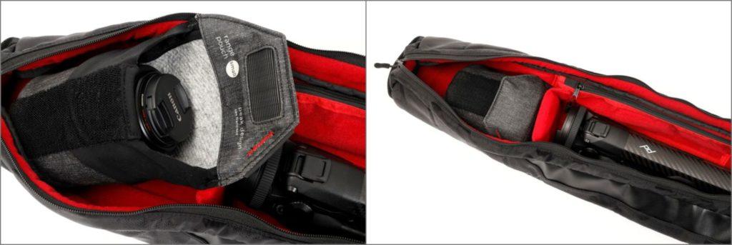 保護ケースとともにレンズを収納 Endurance エンデュランス 三脚・ライトスタンドマルチケース