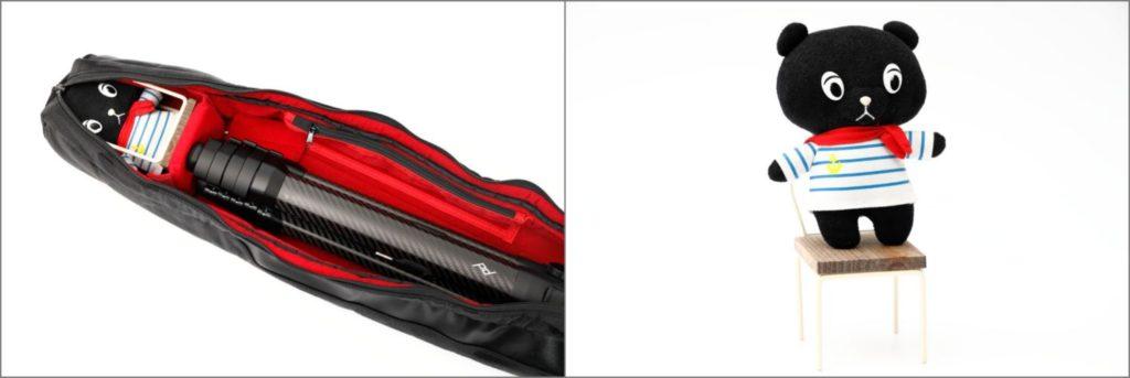 コーベアーの椅子も収納可能 Endurance 三脚・ライトスタンドマルチケース