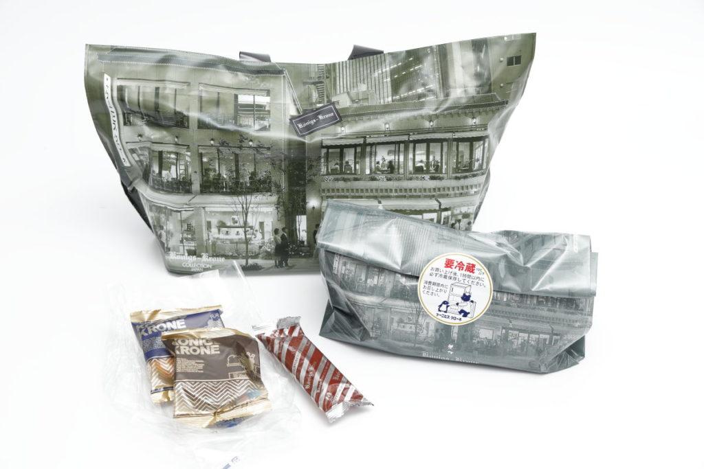 ケーニヒスクローネのエクスプレスサービスで届いた洋菓子の詰め合わせ