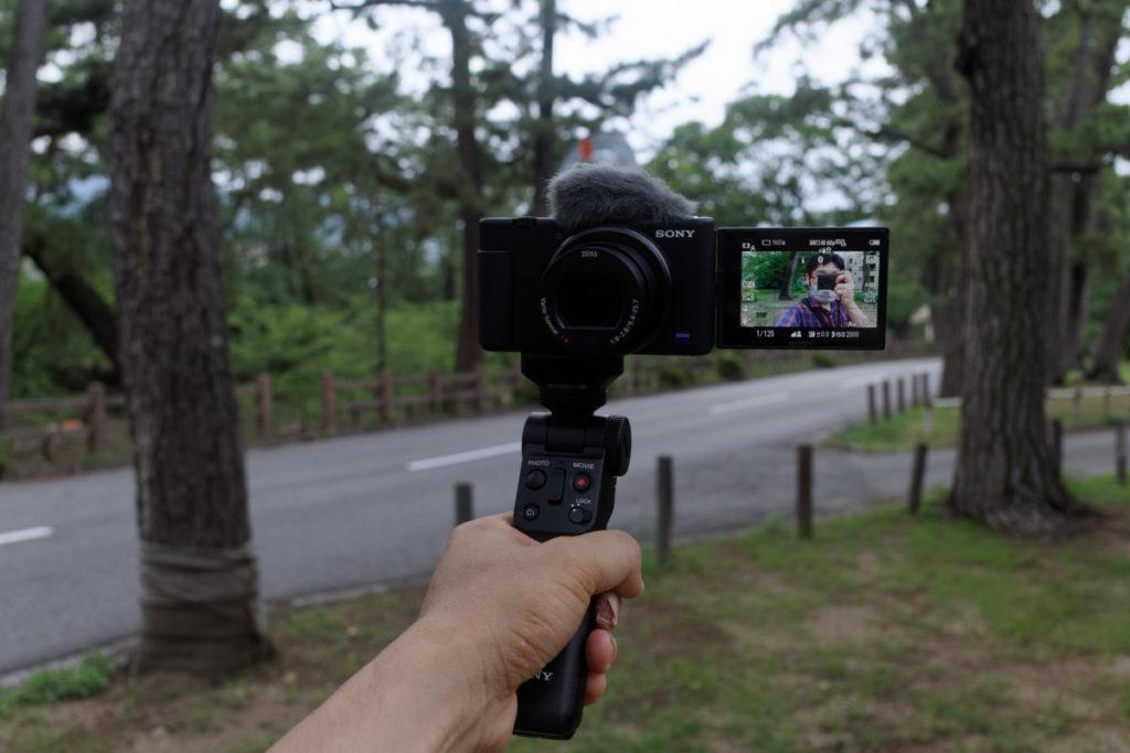 自撮りしやすい ソニー デジタルカメラ VLOGCAM ZV-1/ZV-1G