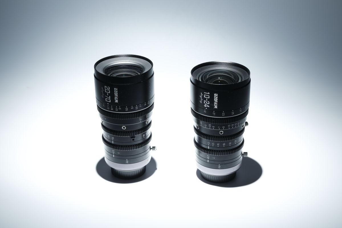 DZOFilmのシネマレンズ「Linglung 20-70mm T2.9」と「Linglung 10-24mm T2.9」マイクロフォーサーズマウント