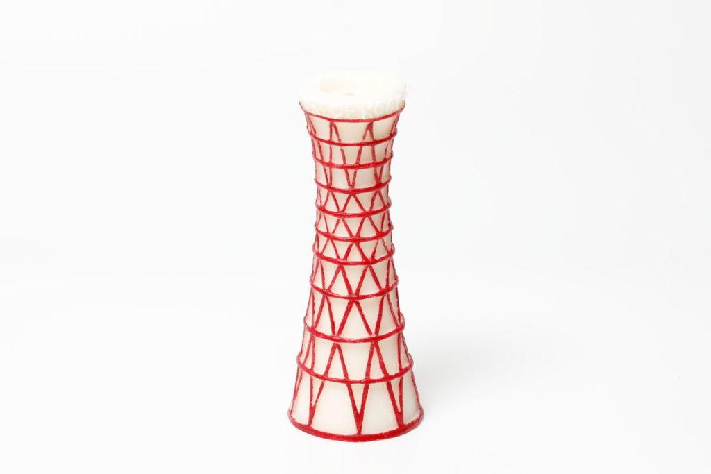 ポートタワー型のアロマキャンドル
