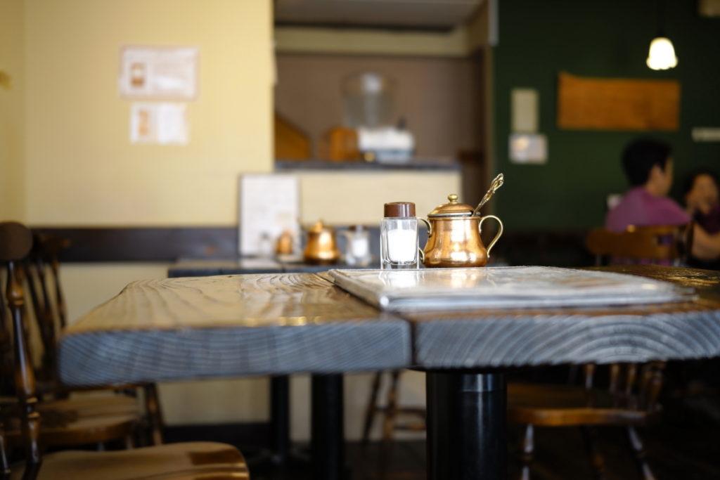 カフェ クラシックイエロー SIGMA fp作例写真