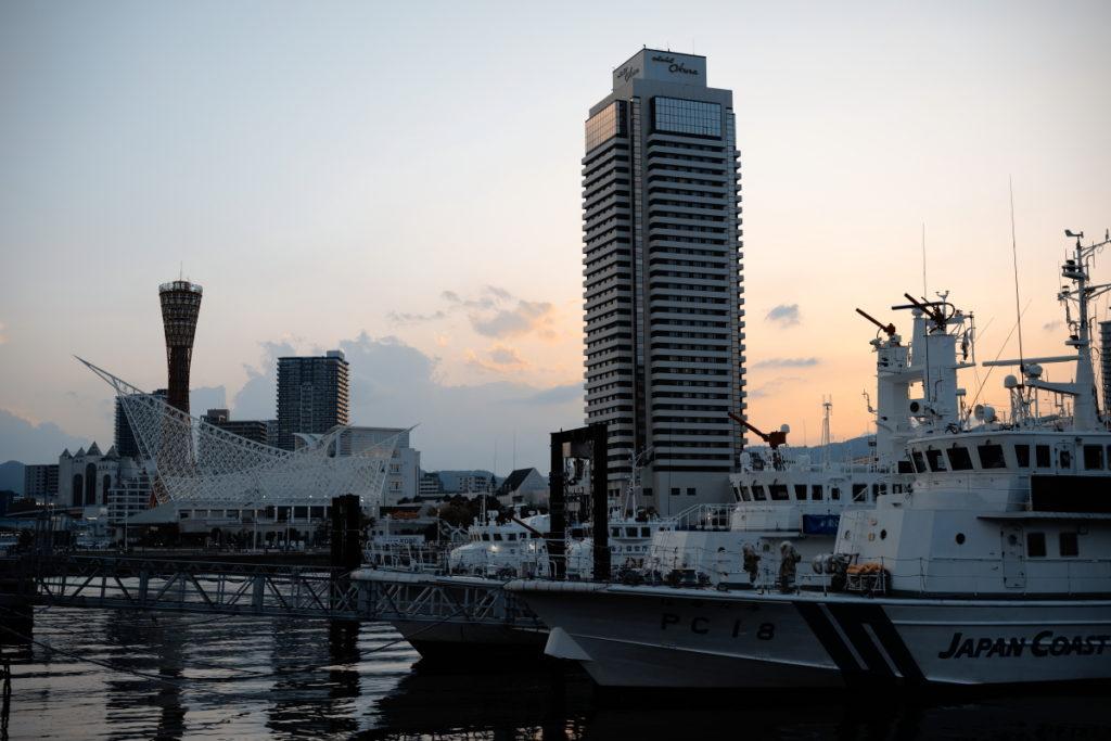 SIGMA fp 神戸夕景スナップ
