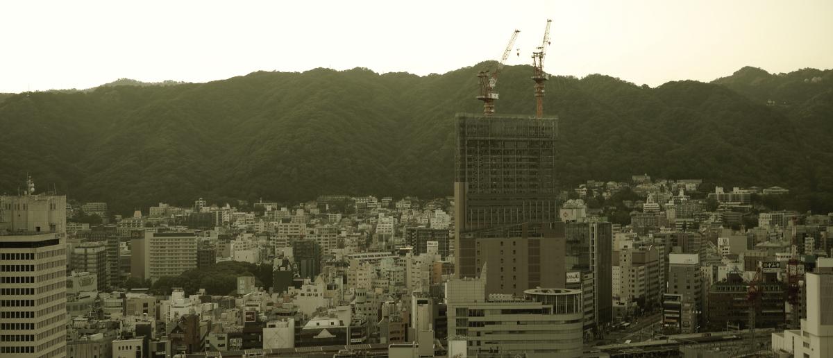 市役所展望台からの眺め SIGMA fp 神戸夕景スナップ