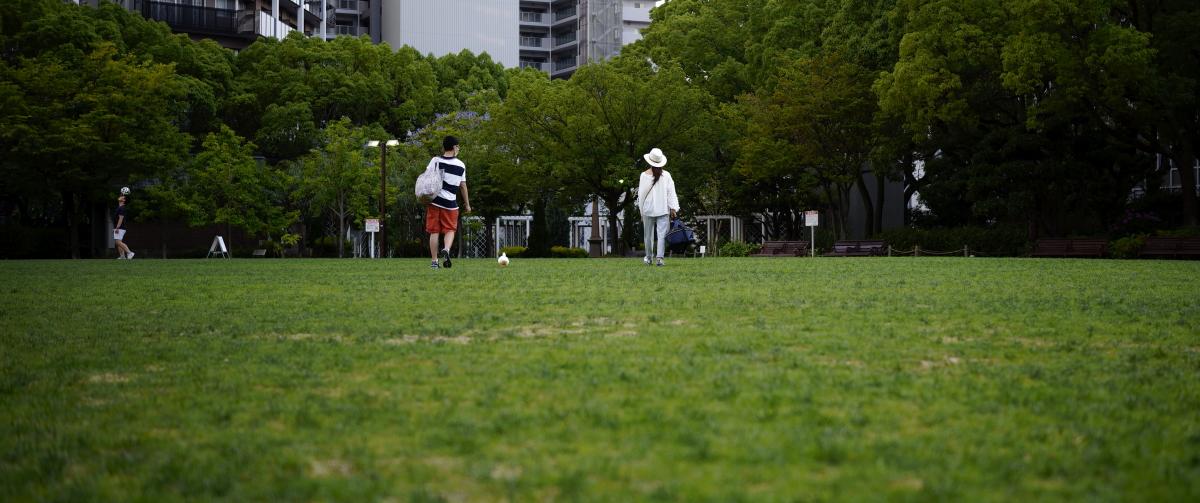 三宮東遊園地 SIGMA fp 神戸夕景スナップ