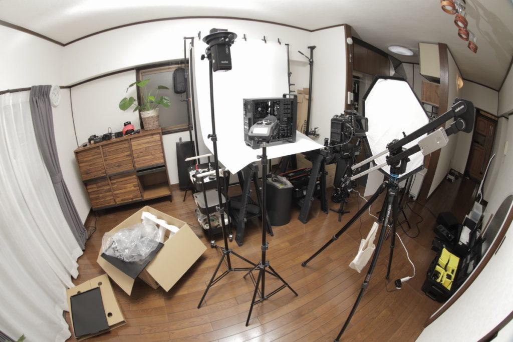 Edelkrone JibONEの撮影風景