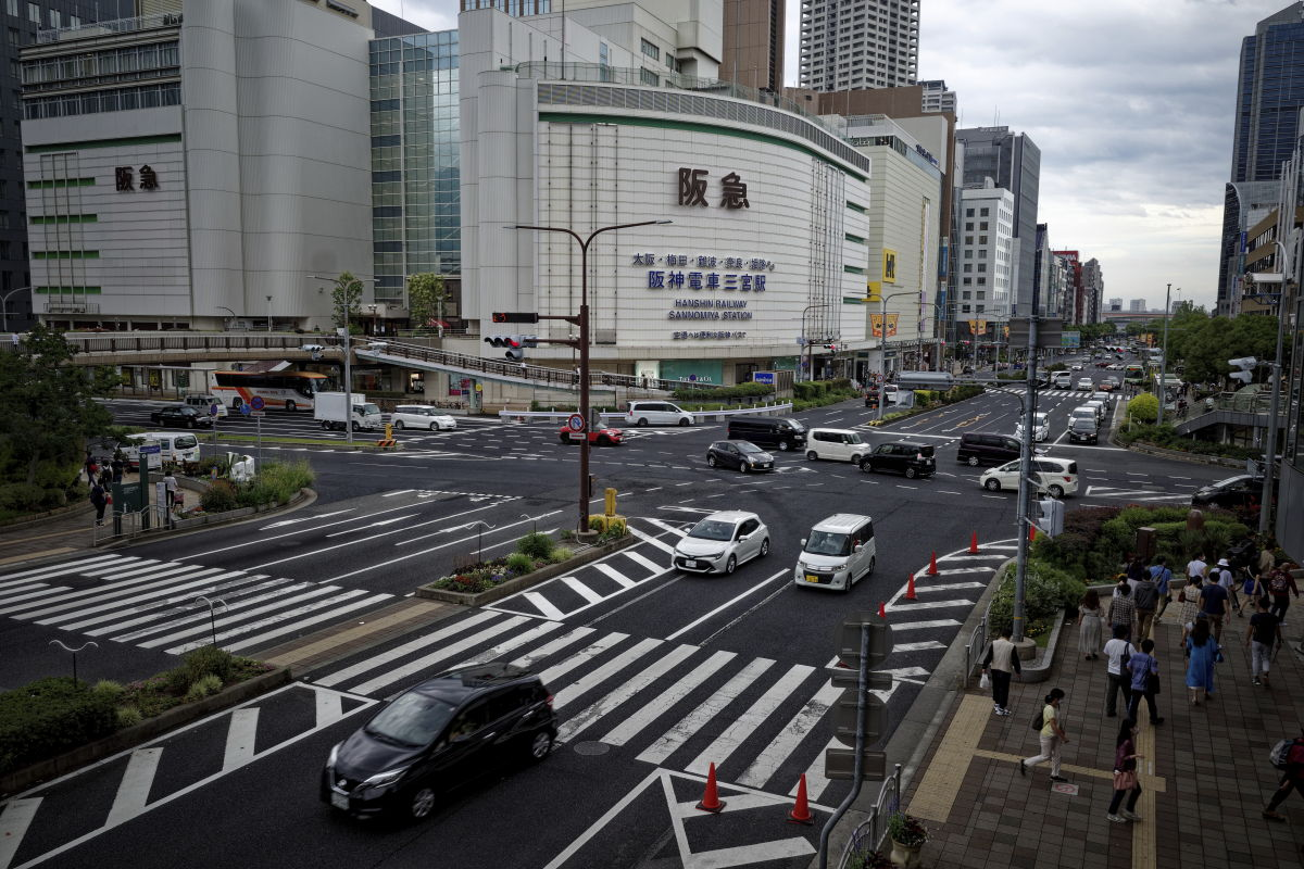 三宮駅前交差点