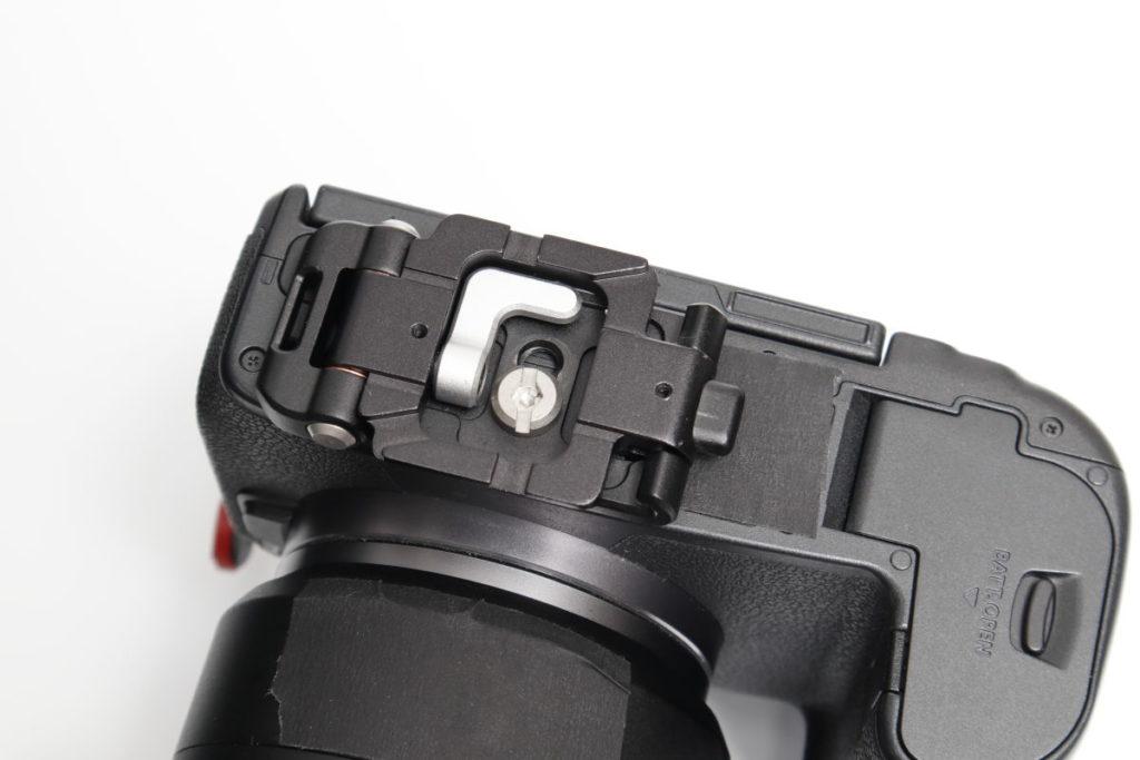 Silence Corner マジックプレート Magic Plate カメラに装着