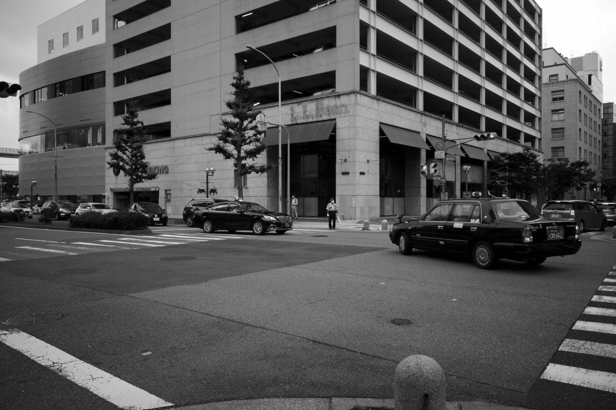 モノクロスナップ 神戸ストリート GR3