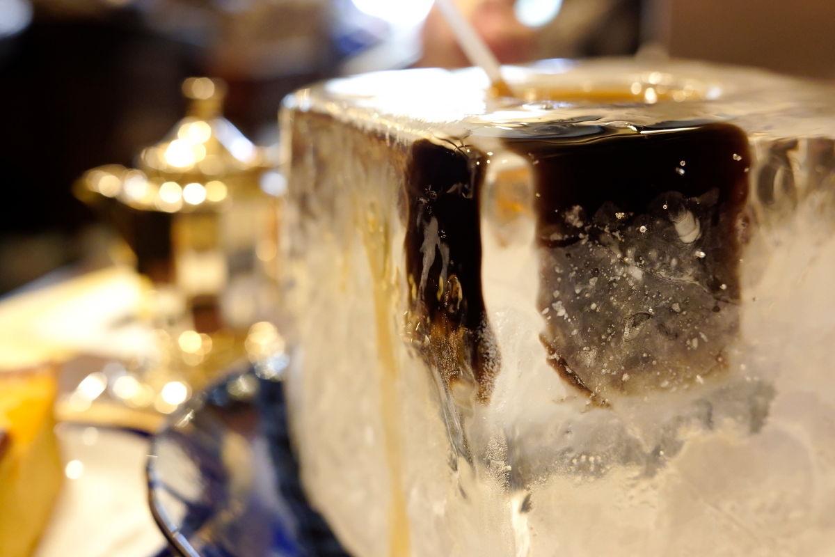 にしむら珈琲 夏季限定 氷の器のアイスコーヒー