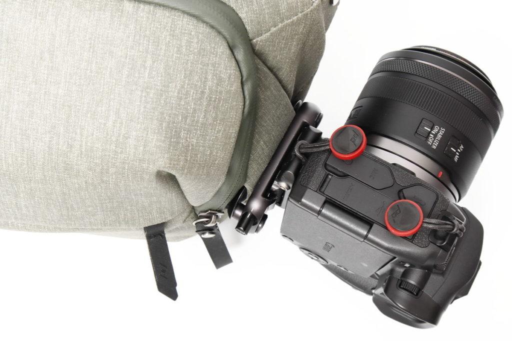 マジックpレートならキャプチャーでカメラに固定できる