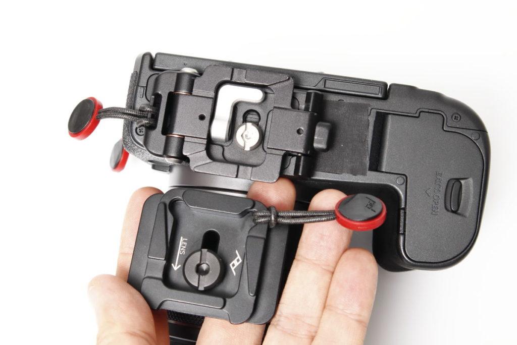 マジックプレートはピークデザインのプレートのようにはアンカーを付けられない