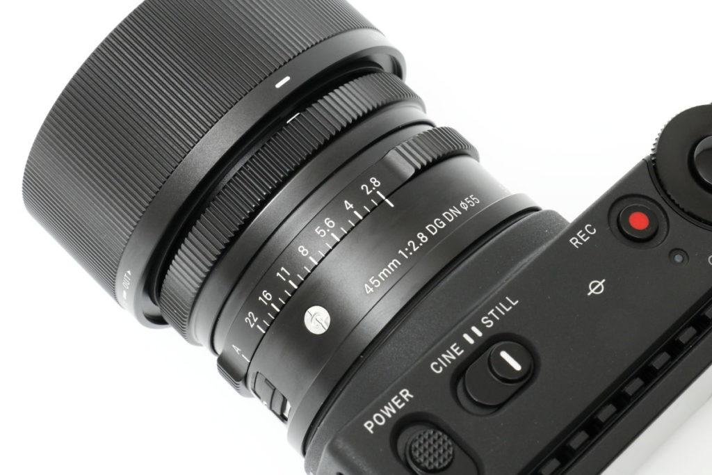 交換レンズ SIGMA 45mm F2.8 DG DN