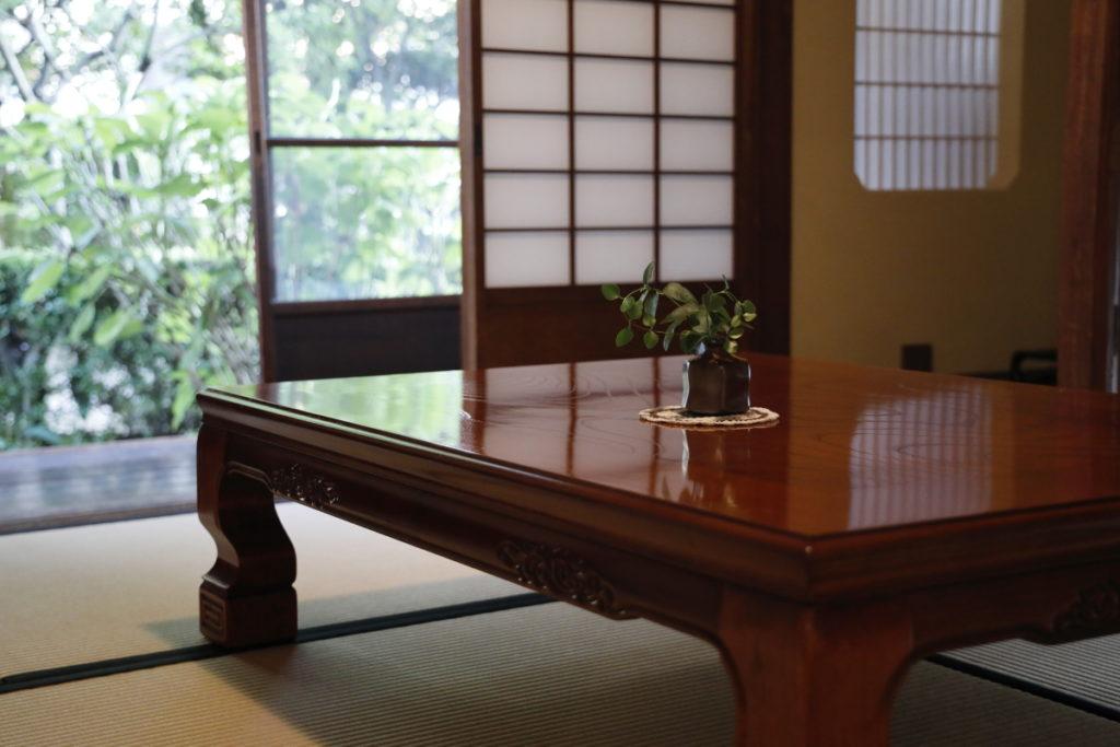 1階西の部屋 谷崎潤一郎旧邸 倚松庵