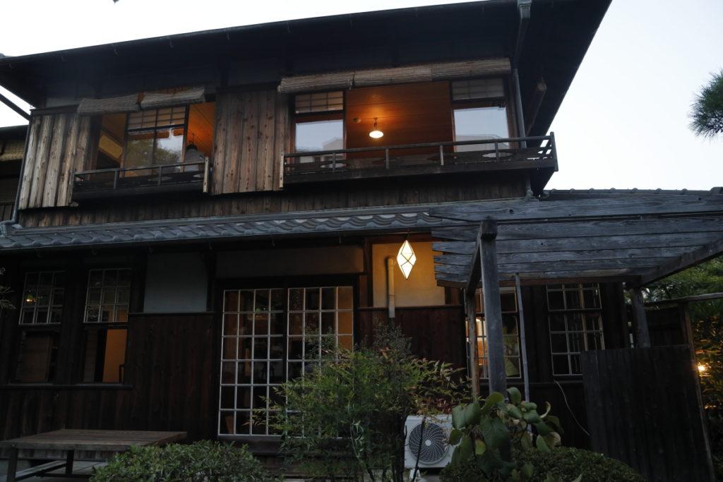 谷崎潤一郎旧邸「倚松庵」 納涼夕涼み ライトアップ