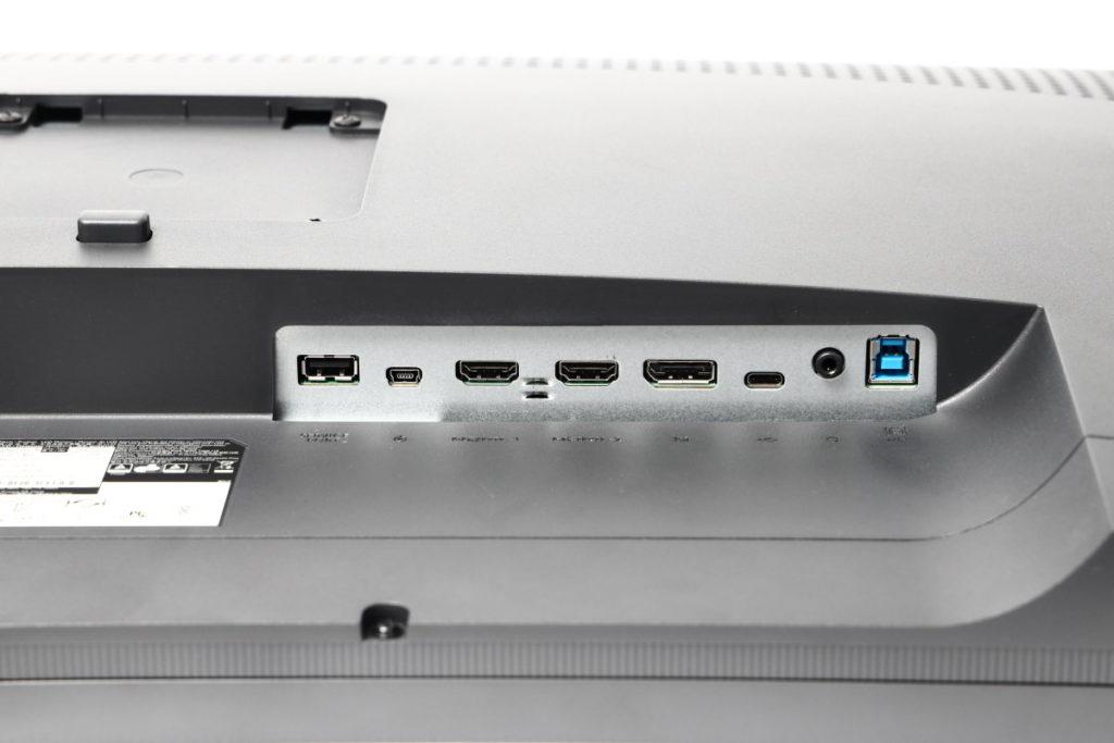 出入力端子 インターフェイス BenQ SW321C 4Kカラーマネジメントモニター 32インチ