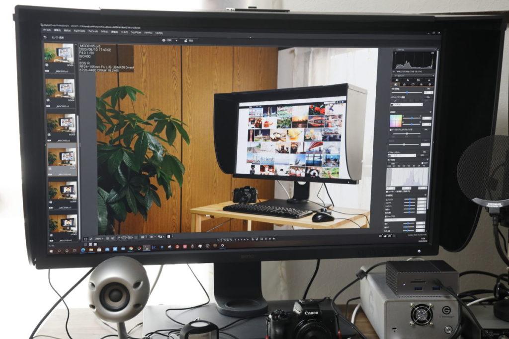 BenQ 32インチ Adobe RGB 99% 対応 USB Type-C搭載 写真・動画編集向けカラーマネジメントモニター SW321C