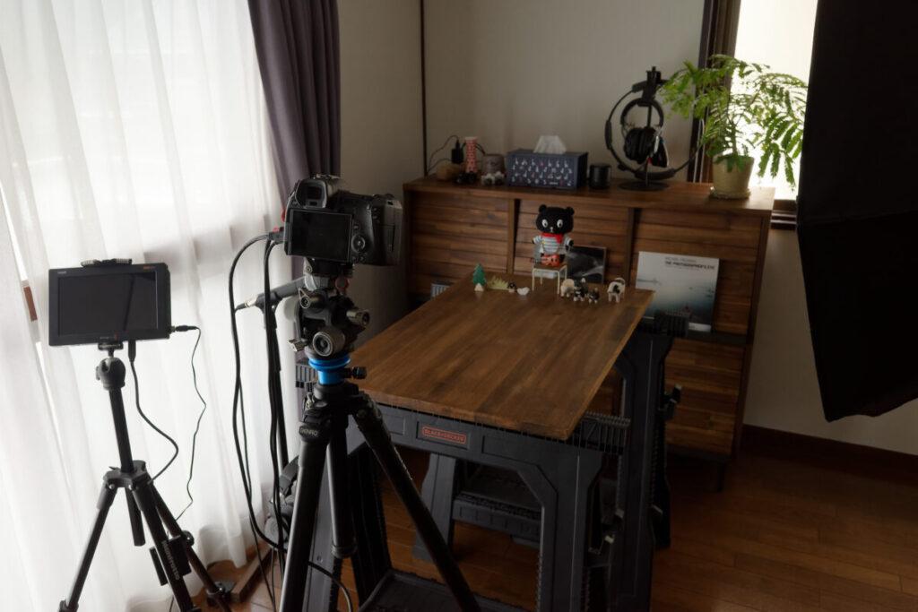 EOS R撮影テストの現場