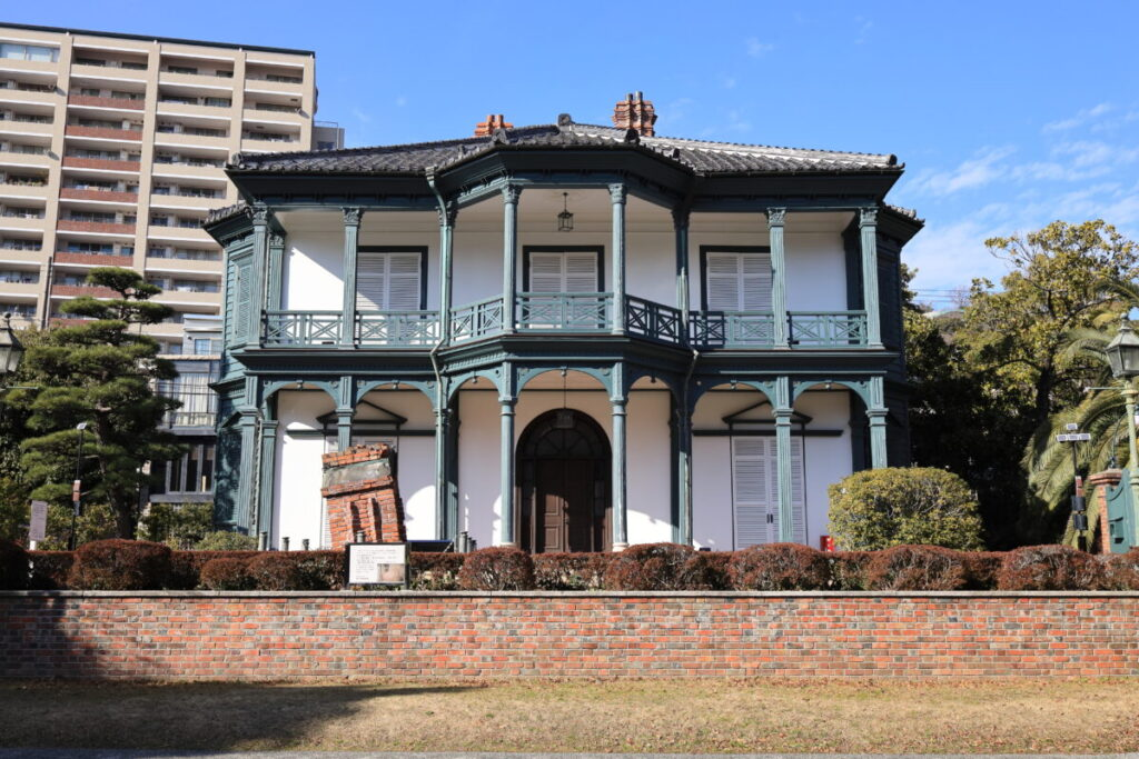 旧ハッサム住宅 相楽園 神戸市 異人館