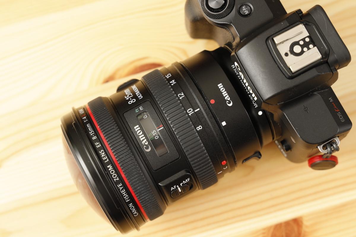 EF8-15mm F4L Fisheye USM リミッター ストッパー
