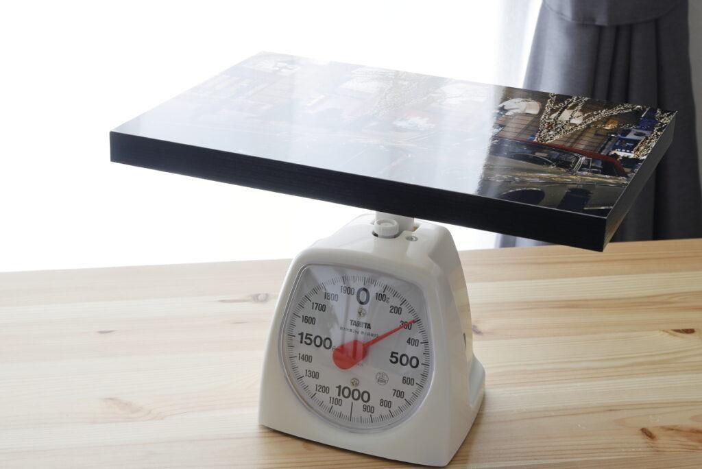 ウォールデコ カジュアル A4サイズ 重量