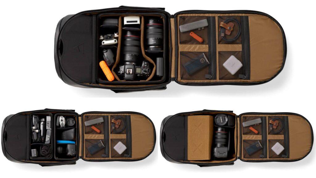 ピーターマキノン 25Lカメラバックパック Camera Backpack 25L Peter McKinnon X NOMATIC