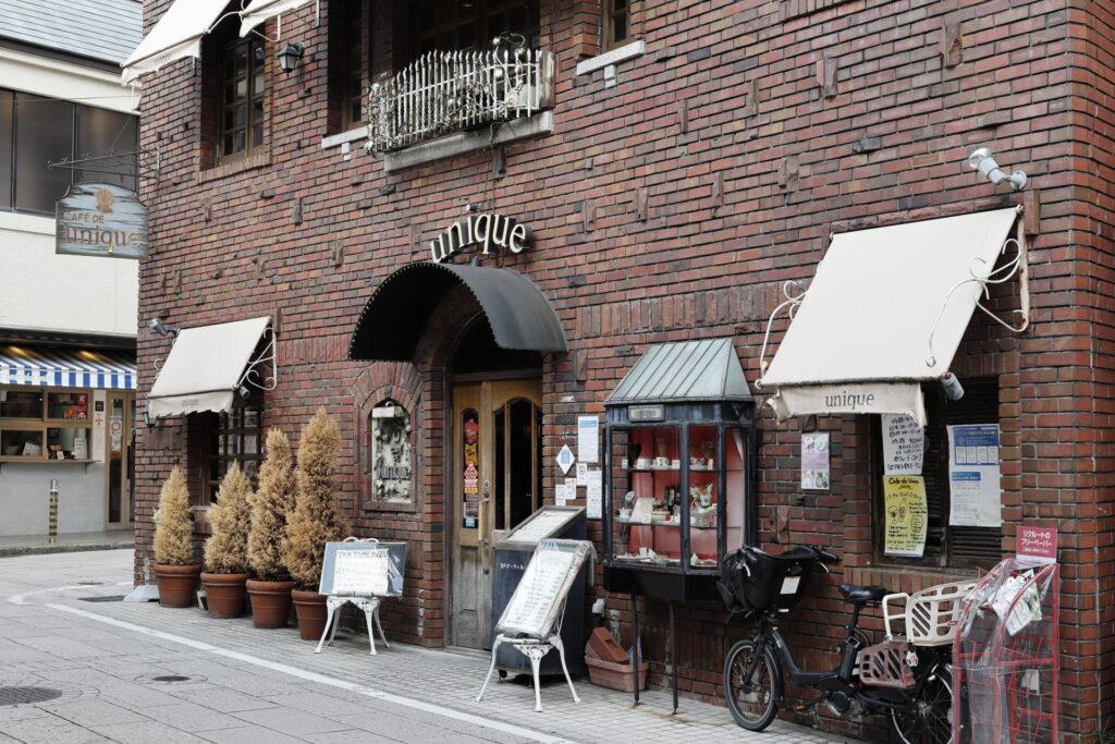 CAFE DE unique カフェドユニーク 店舗外観