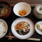 食事メニュー 日本茶カフェ一日の定食 お食事膳