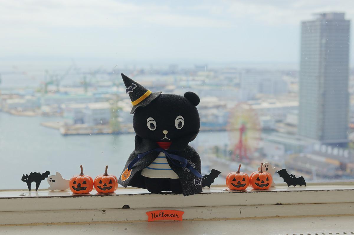 コーベアーハロウィンコスチューム 神戸ポートタワーにて