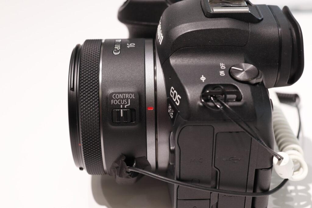 側面 RF16mm F2.8 STM キヤノン RFマウント用広角レンズ 単焦点