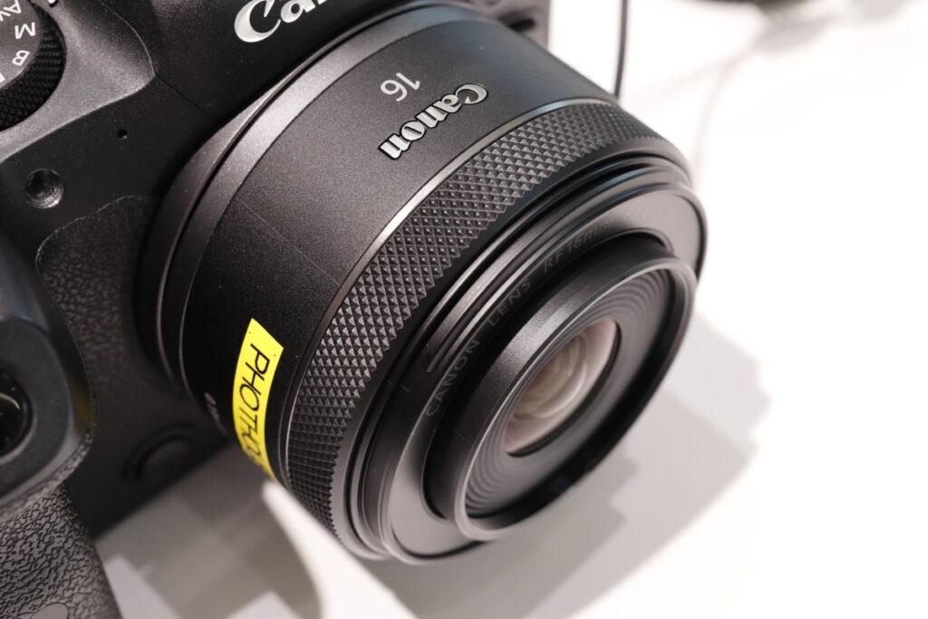 RF16mm F2.8 STM キヤノン RFマウント用広角レンズ 単焦点